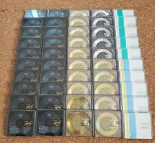 Maxell MD 74 80 Minidisc 50 blank discs Recordable with case USED