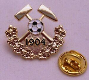 Pin Anstecker Bergbau 1904 Fußball Auch für Schalke Fans Gelsenkirchen Kult Gold