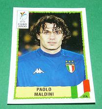 N°170 PAOLO MALDINI ITALIA ITALY ITALIE PANINI FOOTBALL UEFA EURO 2000