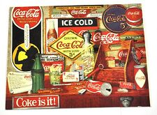 BELLA VECCHIO Coca-Cola USA Cartolina Postcard - COCA COLA Through the Years