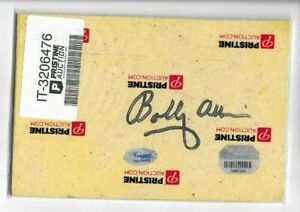 Bobby Allison Signed Authentic Relic Daytona Grandstand Signage Piece Fanatics H