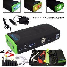 50800mAh 12V Portable Minimax Car Jump Starter Charging Power For Mobile Phone