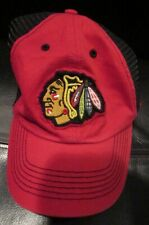 New Reebok Chicago Blackhawks City Name Trucker Snapback Cap Hat OSFA