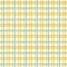 York Boys Will Be Boys Washy Plaid Wallpaper-Cream, Gold, Blue ZB3414