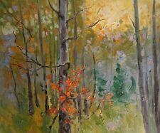 Bosco accogliente quadro - Dipinto a olio telaio in legno