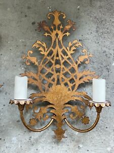 Double Wall Lamps - set of 3