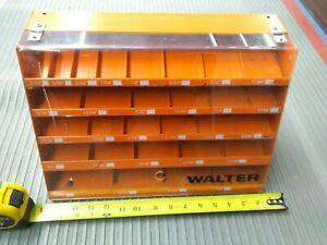 Walter Drill Bit Display Holder Organizer Industrial Commercial Advertising