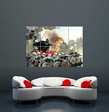 STAR WARS DARTH VADER ATTACK  GIANT WALL ART PRINT POSTER PICTURE WA163