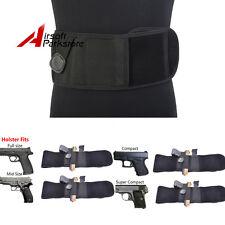 Belly Band Ambidextrous Handgun Pistol Holster Concealed Carry Waist Band Belt