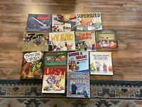 Lot Of 13 ZITS Comic strip book's and others Jerry Scott & Jim Borgman