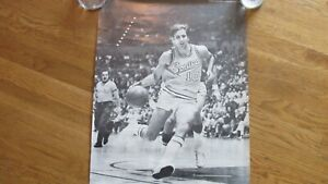 1970'S DICK SNYDER SEATTLE SUPERSONICS POSTER-VG-EX CONDITION-RARE