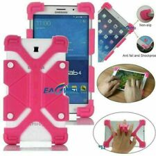 """Safe Soft Silicone Stand Case Cover For Samsung Galaxy Tab A/E/S2/4 7"""" 8""""in Rose"""