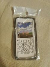 BLACKBERRY PEARL 9100 MOBILE PHONE COVER GREY CIRCLES NEW