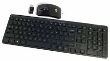 HP US Wireless Keyboard and Mouse Kit New 704219-001