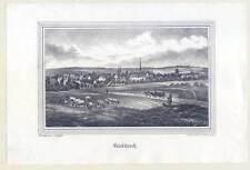 Kriebitzsch bei Altenburg - Criebitzsch - Lithographie nach Wegener 1840