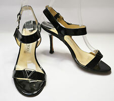 Jimmy CHOO Sandales à talon noir chaussures vernies UK 4 / UE 37 / US 6.5 / 23 cm