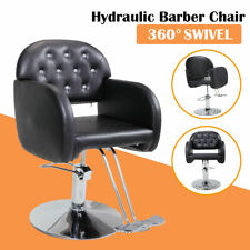 Adjustable Executive Hydraulic Barber Chair Styling Hair Salon Beauty Equipment