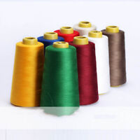 Sewing Thread 7200 Yards Polyester Spool Overlock Cone for Serger Needle Sew #B9