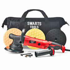 "Swarts Tools Dual Action Random Orbital Polisher 7"" 21mm + Compound KIT"