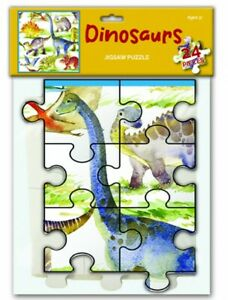 NEW: Dinosaurs : 24 Piece Jigsaw (Children's Puzzle 3+)