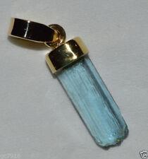 Aquamarine Handmade Not Enhanced Yellow Gold Fine Jewellery