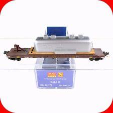 N Scale NASA #5 - 57' Converted TOFC Flat Car w Load NLAX -MICRO TRAINS 06400170