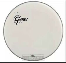 "Gretsch Bass Drum Head Coated 20"" w/ Offset Logo"