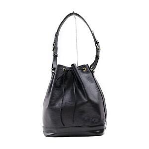 Louis Vuitton LV Shoulder Bag M59002 Noe Black Epi 1418621