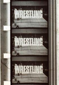 ITV World Of Sport Wrestling Steve Veidor Vs Tony Charles - 16mm B&W Sound Film