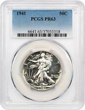 1941 50c PCGS PR 63 - Walking Liberty Half Dollar