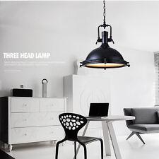 Large Chandelier Lighting Bar Ceiling Lamp Home Kitchen Vintage Pendant Light