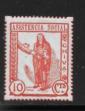SPAIN    CHIVA      SOFIMA 4   PERF 16     MINT  HINGED  SPANISH CIVIL WAR