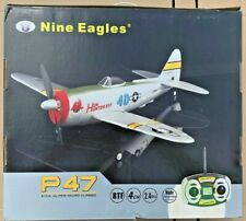 Nine Eagles P47 4 Channel Ultra-Micro RC 2.4Ghz Radio Plane ARTF Needs Charger