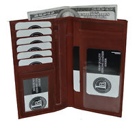 CHECKBOOK MONEY CREDIT CARD HOLDER BROWN THREE IN ONE GREAT NEW GIFT IDEA