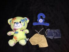 Build A Bear Small Frys Teddy And Shorts. Excellent Condition