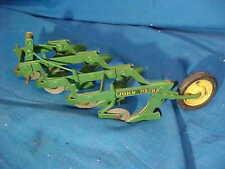 Vintage JOHN DEERE 4 Blade HARROW PLOW Toy TRACTOR Accessory