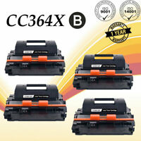 4PK CC364X 64X High Yield Toner Cartridge For HP LaserJet P4015dn P4015tn P4515