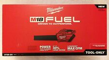 New Milwaukee M18 18 Volt Fuel 2728-20 Cordless Hand Held Leaf Blower (Bare Tool