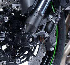 Kawasaki Z900 Z900RS 2017-2018 R&G racing black fork crash protectors bobbins