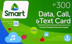 Smart P300 Data Call & Txt Prepaid Smart Bro Load Card