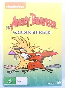 Nickelodeon The Angry Beavers Collector's Edition Of 10 DVDs ~ Season 1 - 4