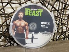 BODY BEAST REPLACEMENT DISC BUILD LEGS BACK BICEPS DVD