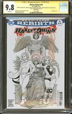 Harley Quinn #16 Sketch Variant CGC 9.8 SS Signed Cho, Conner, Palmiotti, +3 Sig