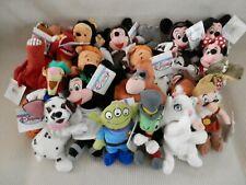 Vintage Disney Singles Mini Plush toy beanie babies collectibles with tag
