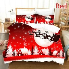 Christmasx Series 3D Sled or Santa Claus Printing  Bedding Sets Comforter Cover