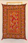 Indian Fine Hand Embroidered Mirror Work Vintage Kutchi Style Wall Hanging Décor