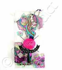 """Tula Pink Hardware Collection - 8"""" Fabric Shears - 22k Gold Plated Scissors New"""