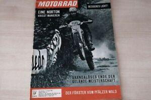 1) Motorrad 17/1963 - Norton 650 SS mit 49PS Opti