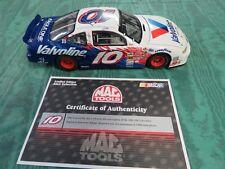 NASCAR 1:24 DIECAST,MAC TOOLS,JOHNNY BENSON,2001 #10 PONTIAC LIMITED EDITION.