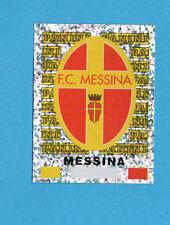 PANINI CALCIATORI 2001/02- Figurina n.518- SCUDETTO/BADGE - MESSINA -NEW